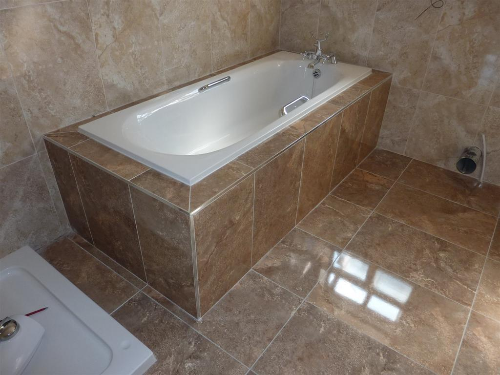 How To Tile Round A Bath Tile Design Ideas